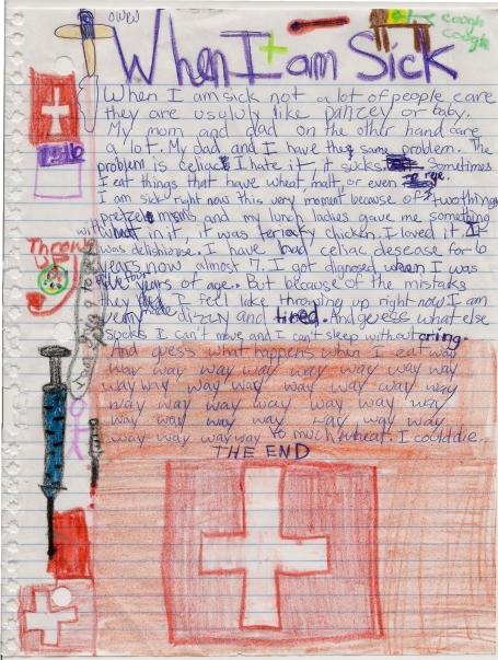 Chloe's letter 12-2012